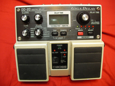 BOSS DD-20 GIGA DELAY